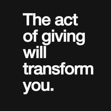Act of giving
