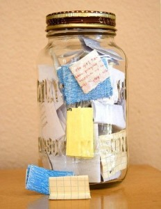 Notes in Jar