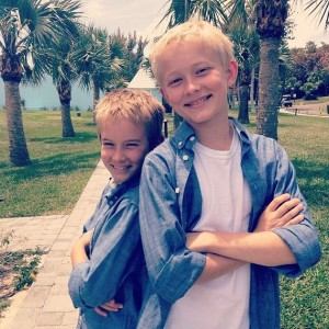 My boys...Ryan and Dylan